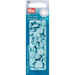 Boutons Pression  Color Snaps Bleu Clair 12,4 Mm Prym Réf 393120