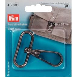 Mousqueton  40/60 Mm  Argent Ant Prym Réf 417906