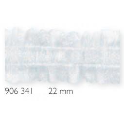 Ruban  Fronceur Simple 22 Mm Transparent  Ecart 15 Mm PRYM Réf 906341