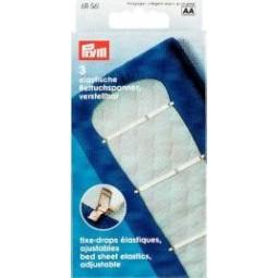 Fixe - Draps Elastiques  18Mm Blanc   PRYM Réf 611561