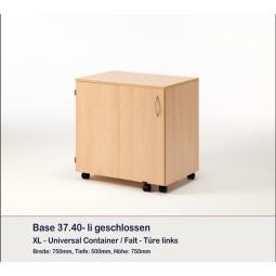 Meuble Container et 8 plateaux BASE