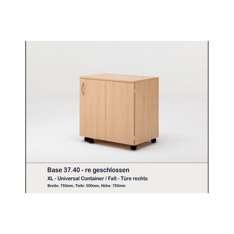 Meuble Container et 8 plateaux BASE RAUSCHENBERGER  EUROPDISTRI -> Meuble Container