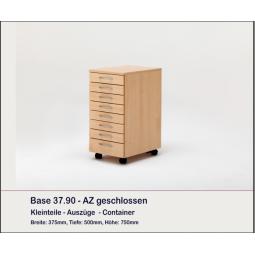 Meuble rangement fils 8 tiroirs, BASE