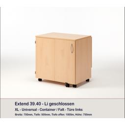 Meuble Container et 8 plateaux EXTEND