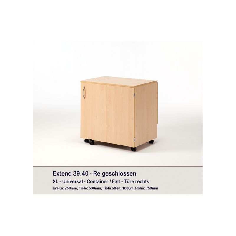 Meuble container et 8 plateaux extend rauschenberger - Meuble rangement aspirateur ...