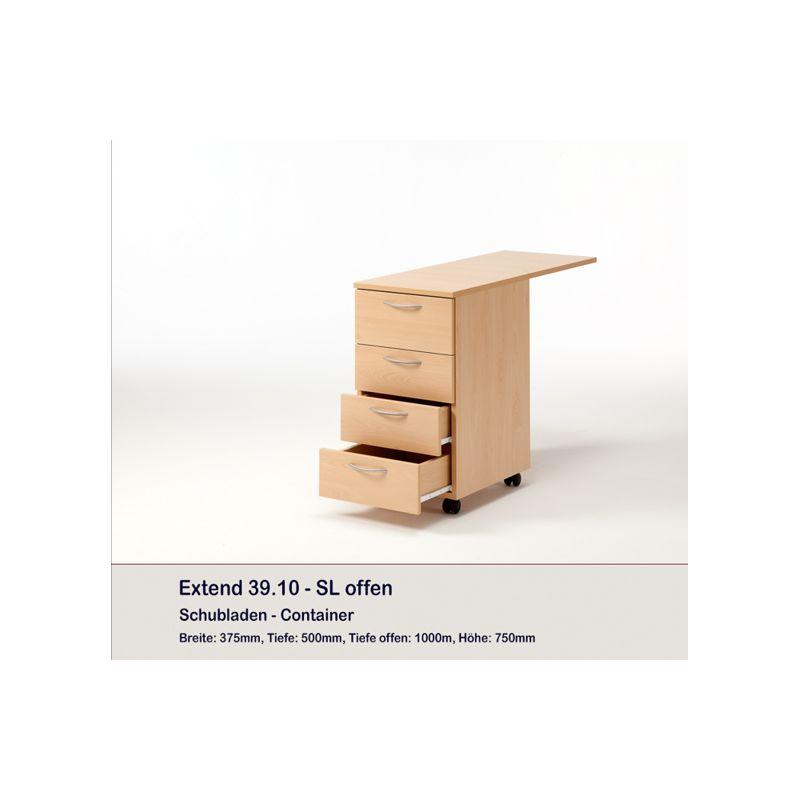 Meuble rangement 4 tiroirs extend rauschenberger europ for Meuble rangement avec tiroir