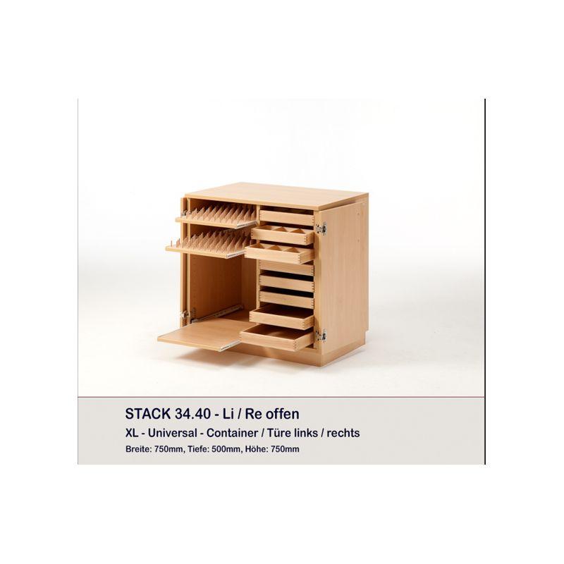 meuble container et 8 plateaux stack rauschenberger europ 39 distri. Black Bedroom Furniture Sets. Home Design Ideas