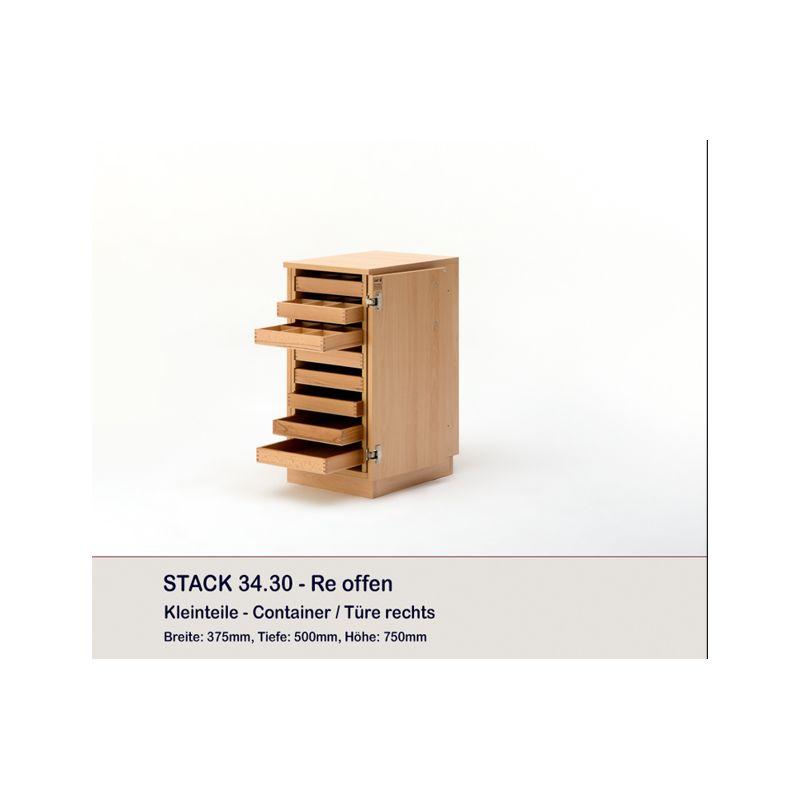 Meuble rangement fils 9 plateaux stack rauschenberger - Meuble rangement aspirateur ...