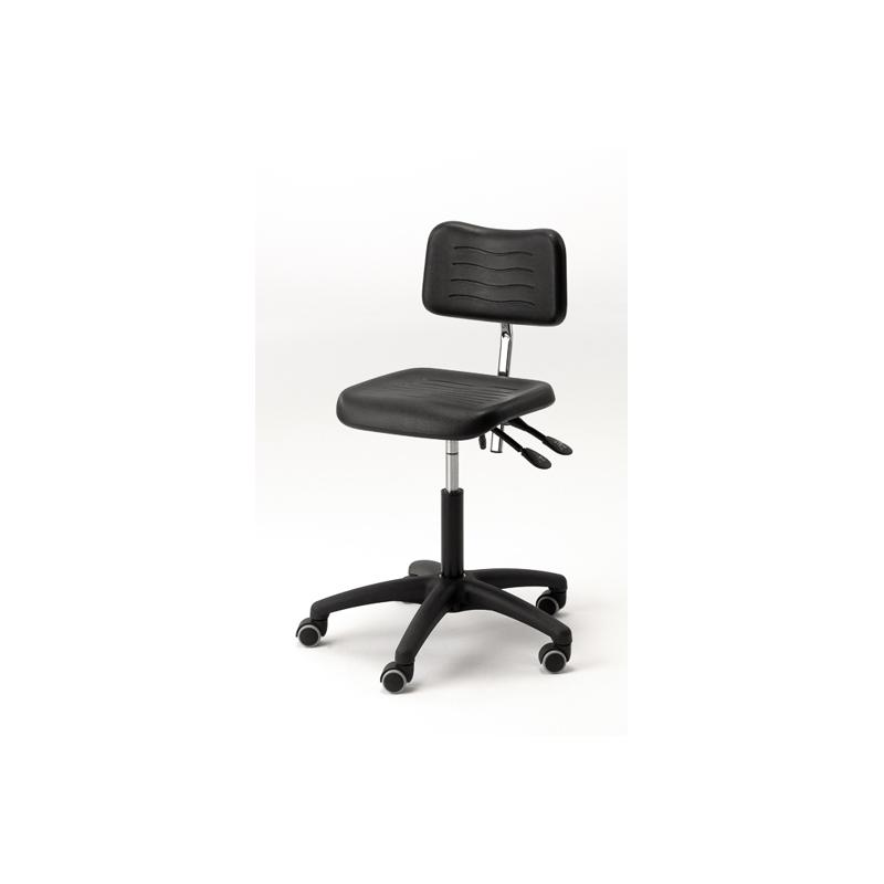 chaise sur roulette r glable en hauteur rauschenberger europ 39 distri. Black Bedroom Furniture Sets. Home Design Ideas
