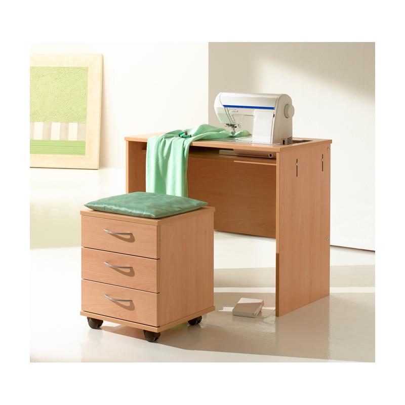 tabouret avec tiroirs de rangement rauschenberger europ 39 distri. Black Bedroom Furniture Sets. Home Design Ideas