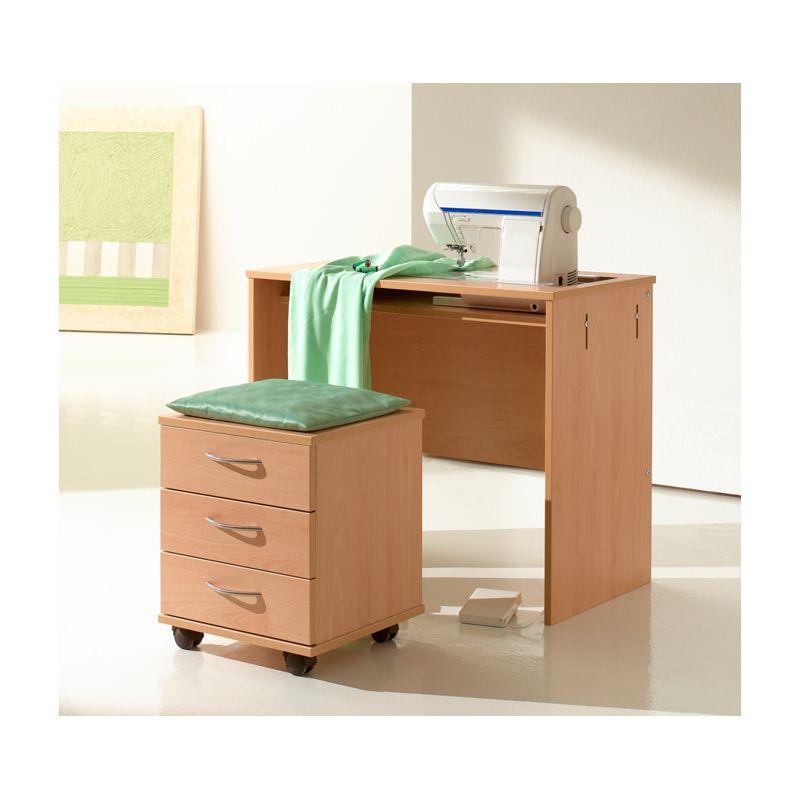tabouret avec tiroirs de rangement rauschenberger europ. Black Bedroom Furniture Sets. Home Design Ideas