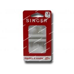 Aiguilles a coudre SINGER assorties n°5 a 10 SF208.510 Réf 57/95/1030