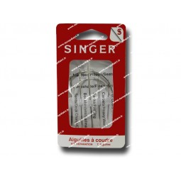Aiguilles a coudre SINGER bricolage assorties SF215.7 Réf 57/95/1077