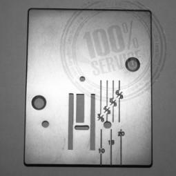 Plaque aiguille métal HOBBY 317 342 - PFAFF Réf 47/83/1044