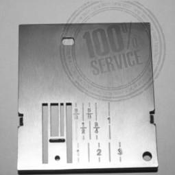 Plaque aiguille métal 6110 6120 6122 - PFAFF Réf 47/83/1045