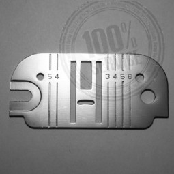 Plaque aiguille métal 500 800 495 196 - SINGER Réf 47/85/1054