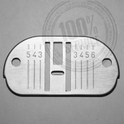Plaque aiguille métal 1000G 417 756 775 1060 - SINGER Réf 47/85/1055