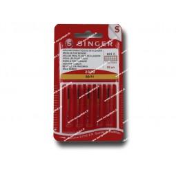 Aiguille SINGER  2020/80 x 5 (801) Réf 80/85/1801