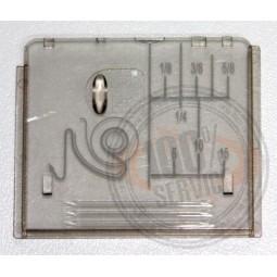 Plaque glissière BERNETTE 65 80 90  - BERNINA Réf 48/72/1065