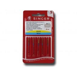 Aiguille SINGER  2045/90 x 5 Stretch H-S (844) Réf 80/85/1844