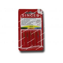Aiguille SINGER 2045/70-80-90 (STRECH) x 5 (846)Réf 80/85/1846