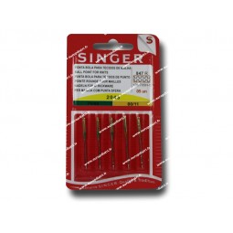 Aiguille SINGER 2045/70-80 (STRECH) x 5 (847) Réf 80/85/1847