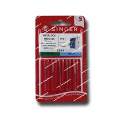 Aiguille SINGER Overlock  2054/Ass x 5 (854) Réf 80/85/1854