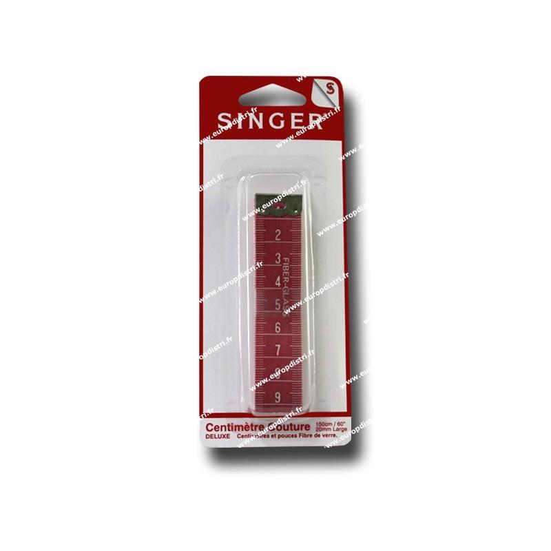 Centimetre couture SINGER 150 cm sous blister SF255 Réf 57/95/1016