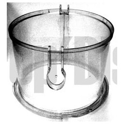 Bac à poussière Aspirateur SINGER FORMULE 1 (1ere generation) Réf BAC.1005