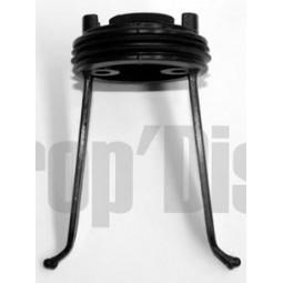 Support rotatif de bac superieur aspirateur SINGER FORMULE 1 Réf SUP.1007