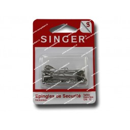 Epingles de securite  qte 12 Assorties SINGER SF410.99 Réf 57/95/1029