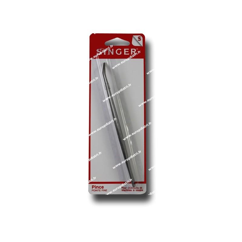 Pince  pointe fine pour surjeteuse SINGER SF141 Réf 57/95/1033