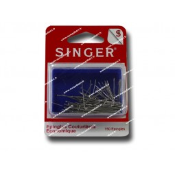 Epingles  couturiere nickelees 0,62mm x 28mm SINGER SF670 Réf 57/95/1038