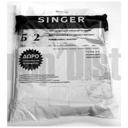 Sacs aspirateur SINGER papier GREEN VC2345 VC2410 VC230 5 Réf SAC.1820