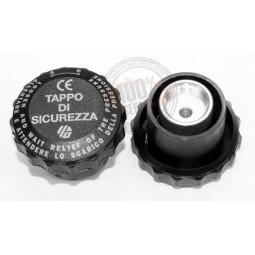 Bouchon avec soupape de securité et joints pour centrale repassage SINGER Stirolux FP1100 Réf BOU.2031