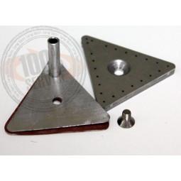 Kit triangle a vapeur, prise dépolie et vis centrale repassage FER STIROINOX Réf DIV.2272
