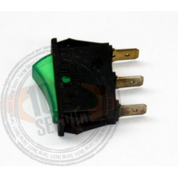 Interrupteur vert presse SINGER COCKTAIL Réf INT.2175