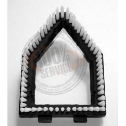 Cache brosse nettoyeur SINGER VAPOMASTER  triangle Réf BRO.1056