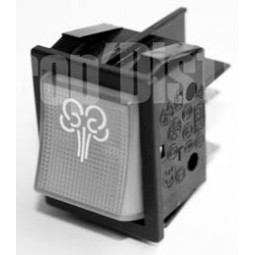 Interrupteur M A vapeur pour : FPC1000  VAPOCLEAN 1500  VAPOCLEAN 2000  VAPOCLEAN 4000 Réf INT.1409