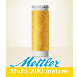 Amann POLYSHEEN MULTI 100% polyester trilobé en 200 mètres Réf 4820