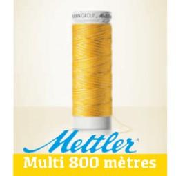 Amann POLYSHEEN MULTI 100% polyester trilobé en 800 mètres Réf 4880