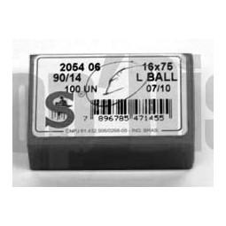 Aiguille Singer 2054 06 16X75 ball (Jersey)  gros 90/14 vrac