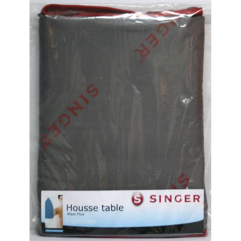 Housse table repasser singer maxi plus 120 x 45 cm r f for Housse repasser