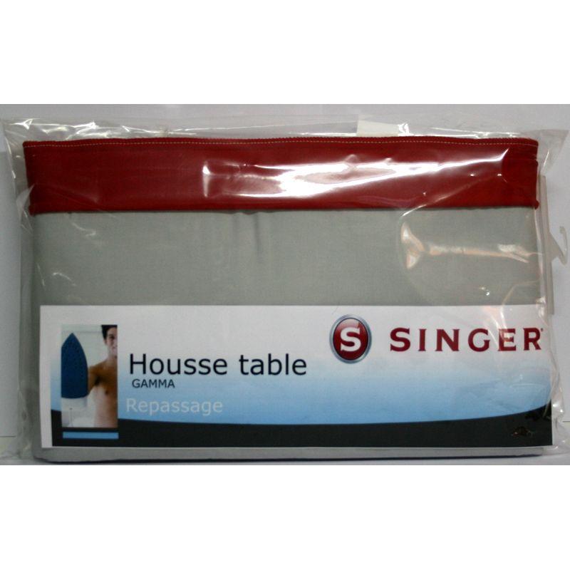 Housse table repasser singer gamma 120 x 40 400gr r f for Housse de table a repasser