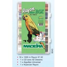 Smartbox RAYON N° 40 fil à broder - Réf 8043