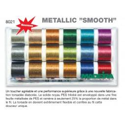 Boîte de fils METALLIC SMOOTH - Réf 8021