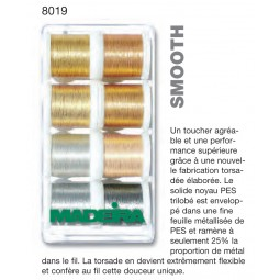 Boîte de fils METALLIC SMOOTH - Réf 8019