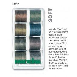 Boîte de fils METALLIC SOFT - Réf 8011