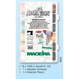 Smartbox AEROFIL N°120 fils à coudre - Réf 8063
