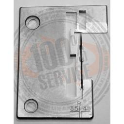 Plaque overlock 14U554 544 14SH654